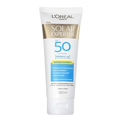 Protetor Solar Expertise Loreal FPS50 com 200ml