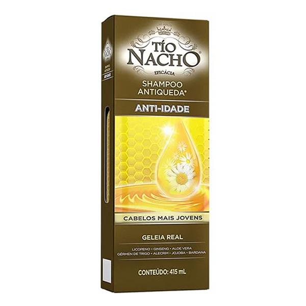 Shampoo Tio Nacho Antiqueda Anti-Idade...