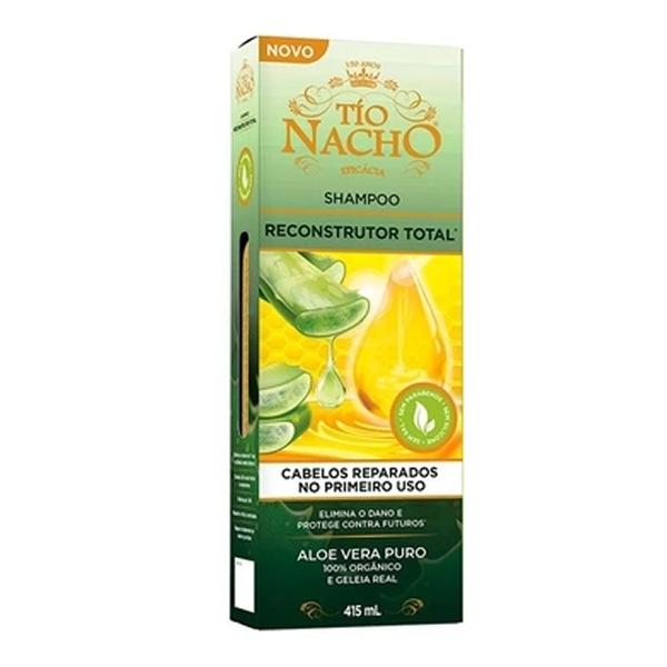Shampoo Tio Nacho Reconstrutor Total c...
