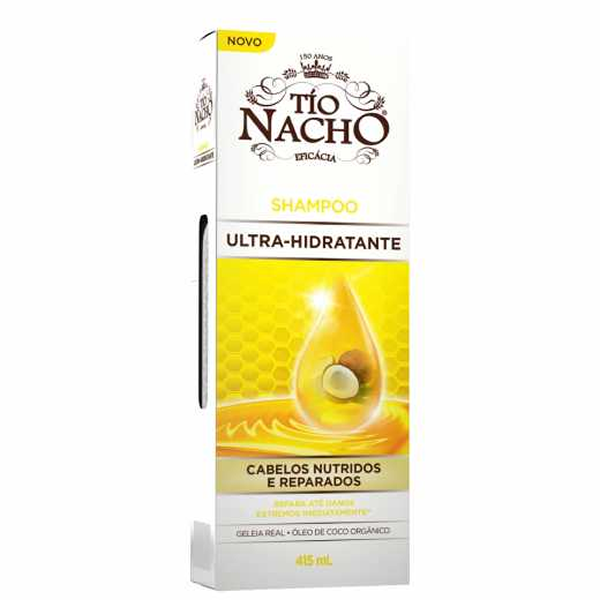 Shampoo Tio Nacho Ultra Hidratante com...