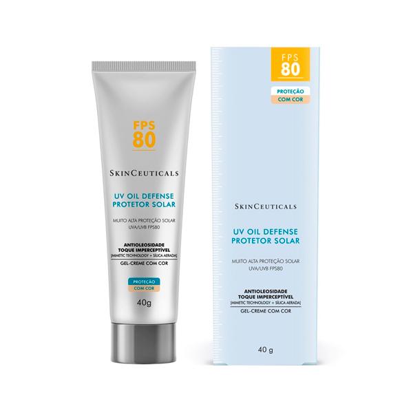 Skinceuticals Protetor Solar UV Oil Defense FPS 80 com cor