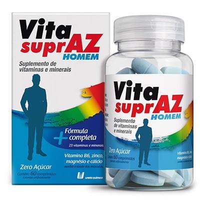 Vita Supraz Homem com 60 Comprimidos