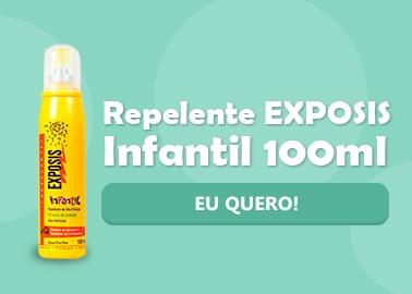 Repelente Aerosol EXPOSIS Infantil 100ml